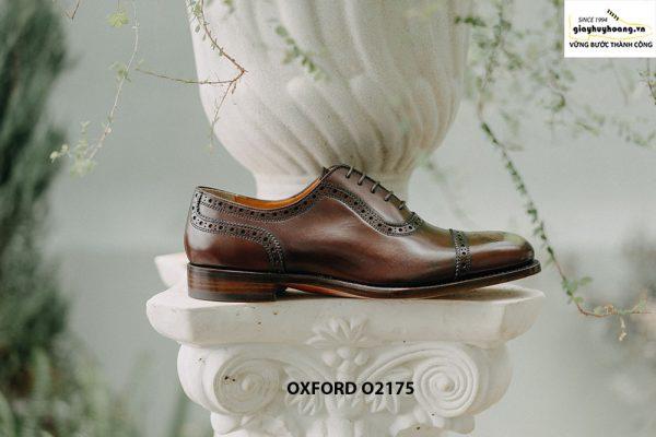 Giày tây nam phong cách đỉnh captoe Oxford O2175 002