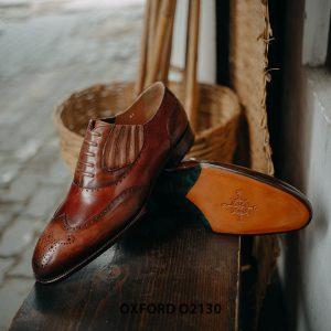 Giày tây nam giả buộc dây cao cấp Oxford O2130 004