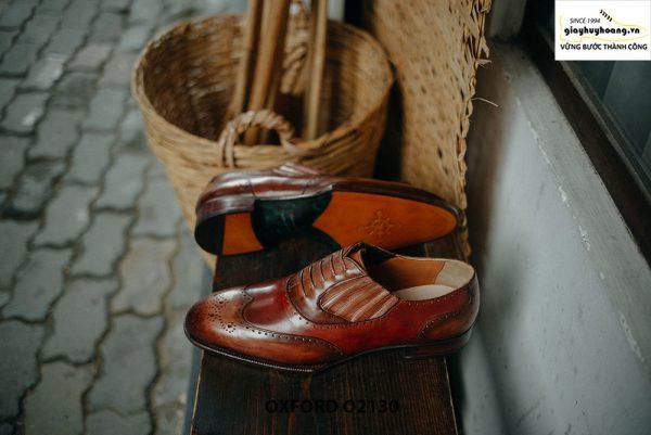 Giày tây nam giả buộc dây cao cấp Oxford O2130 003