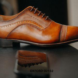 Giày tây nam da bê nhập ý italy Oxford O2132 004