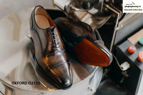 Giày tây nam đặt đóng theo yêu cầu Oxford O2135 004