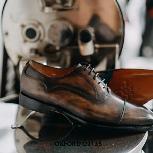 Giày tây nam đặt đóng theo yêu cầu Oxford O2135 003
