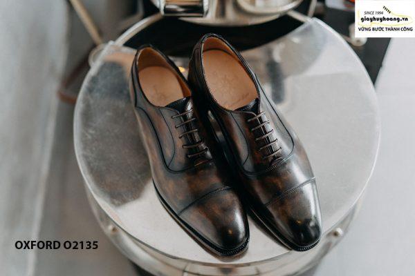Giày tây nam đặt đóng theo yêu cầu Oxford O2135 001