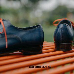 Giày tây nam được đánh màu thủ công Oxford O2136 003