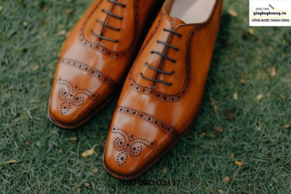 Giày tây nam khâu đế bền bỉ Oxford O2137 004