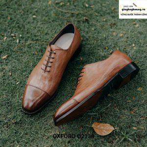 Giày tây nam hàng đẹp chuẩn quốc tế Oxford O2138 006