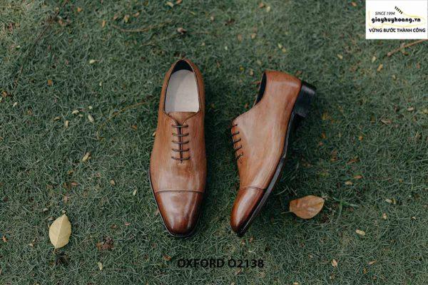 Giày tây nam hàng đẹp chuẩn quốc tế Oxford O2138 005