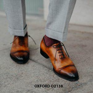 Giày tây nam hàng đẹp chuẩn quốc tế Oxford O2138 003