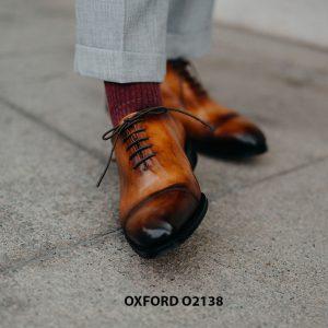 Giày tây nam hàng đẹp chuẩn quốc tế Oxford O2138 002