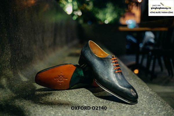 Giày tây nam 1 miếng da liền Oxford Wholecut O2140 004