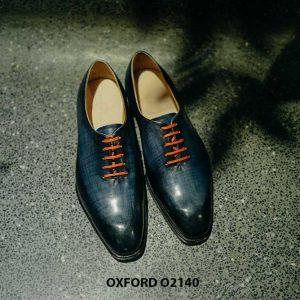 Giày tây nam 1 miếng da liền Oxford Wholecut O2140 001