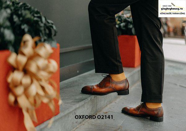 Giày tây nam cao cấp cho nam giới Oxford O2141 001