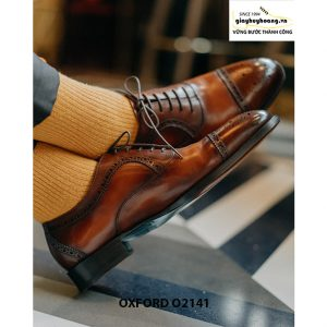 Giày tây nam cao cấp cho nam giới Oxford O2141 004