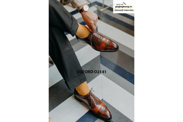 Giày tây nam cao cấp cho nam giới Oxford O2141 003