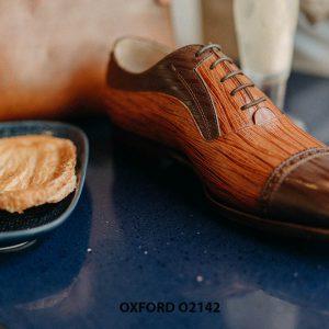Giày tây nam cho chàng trai công sở Oxford O2142 005