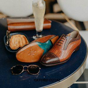 Giày tây nam cho chàng trai công sở Oxford O2142 003