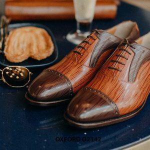 Giày tây nam cho chàng trai công sở Oxford O2142 001