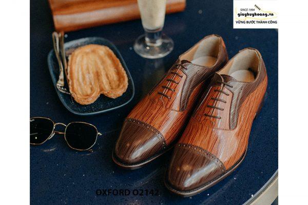 Giày tây nam cho chàng trai công sở Oxford O2142 002