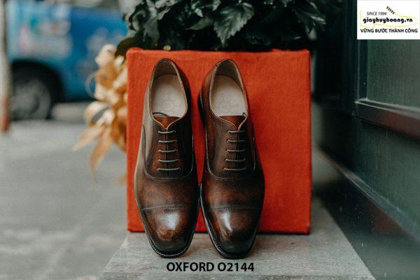 Giày da nam phong cách cổ điển Oxford O2144 001