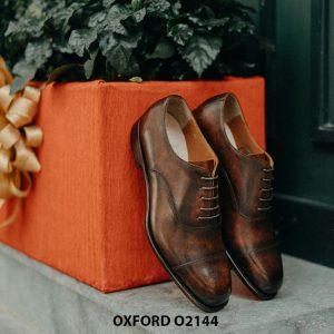 Giày da nam phong cách cổ điển Oxford O2144 002
