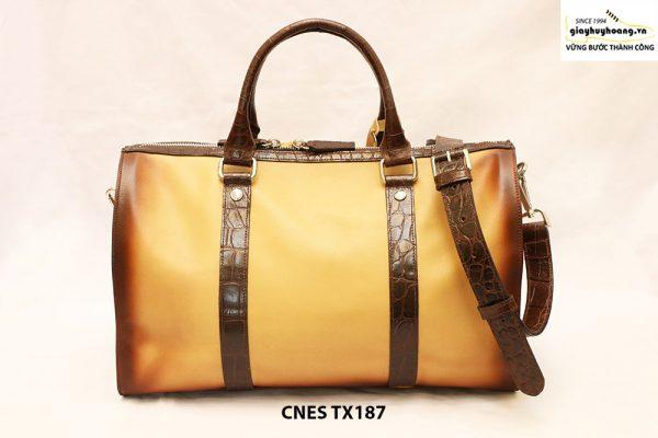 Túi xách du lịch da bò cho nữ cao cấp CNES TX187 003