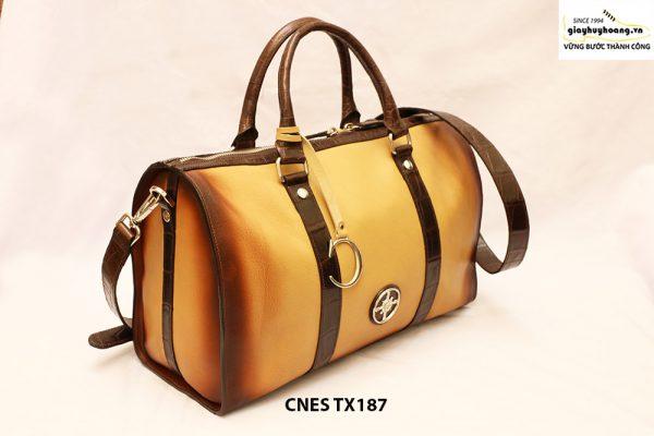Túi xách du lịch da bò cho nữ cao cấp CNES TX187 002