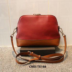 Túi xách đeo chéo da nữ xinh xắn CNES TX188 003
