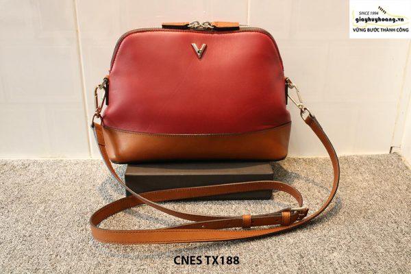 Túi xách đeo chéo da nữ xinh xắn CNES TX188 001