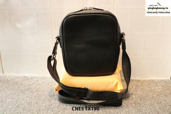 Túi xách da nữ đeo chéo da đan phong cách CNES TX190 003