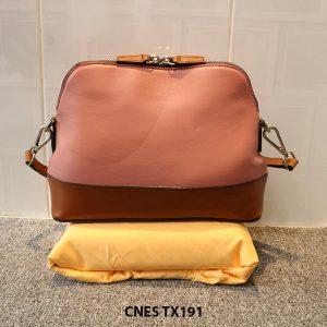 Túi xách đeo chéo da cao cấp cho nữ CNES TX191 003