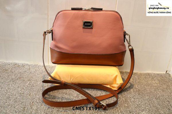 Túi xách đeo chéo da cao cấp cho nữ CNES TX191 001