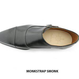 [Outlet size 40] Giày không dây nam 1 khoá Monkstrap SMONK 007