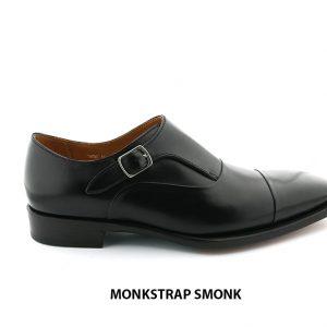 [Outlet size 40] Giày không dây nam 1 khoá Monkstrap SMONK 001