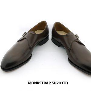 [Outlet Size 43] Giày da nam chính hãng Monkstrap SU203TD 006