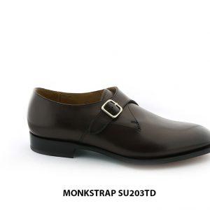 [Outlet Size 43] Giày da nam chính hãng Monkstrap SU203TD 001