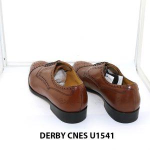 [Outlet Size 40] Giày da nam thủ công cao cấp Derby U1541 003