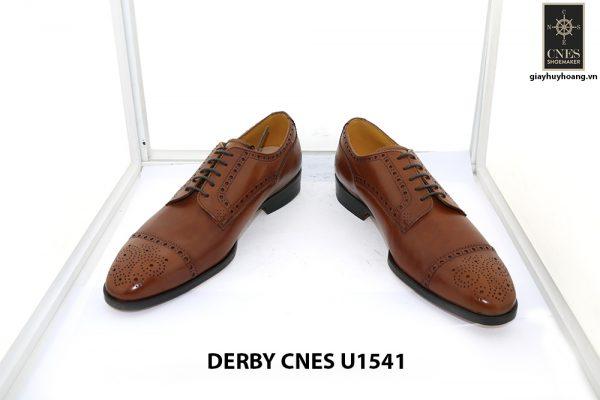[Outlet Size 40] Giày da nam thủ công cao cấp Derby U1541 002