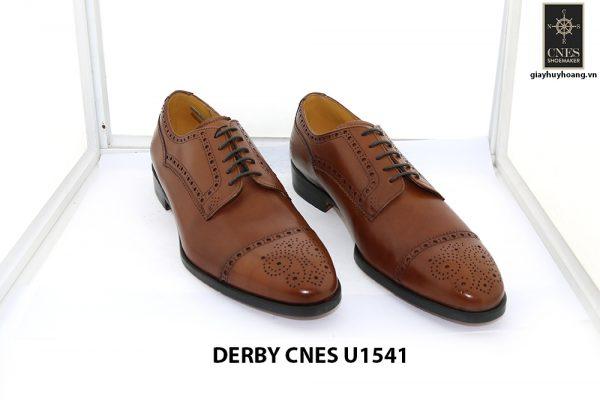 [Outlet Size 40] Giày da nam thủ công cao cấp Derby U1541 001