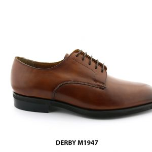 [Outlet] Giày da nam Derby buộc dây giá tốt M1947 001