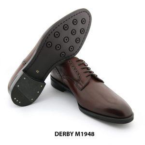 [Outlet] Giày tây nam Derby mũi trơn M1948 009