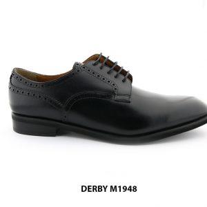 [Outlet] Giày tây nam Derby mũi trơn M1948 001
