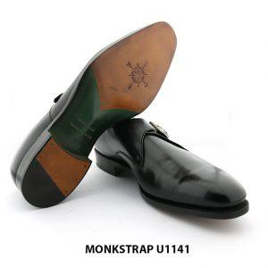 [Outlet Size 43] Giày da nam không dây Monkstrap U1141 006