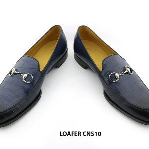 [Outlet] Giày lười nam da bò vân cá sấu loafer CNS10 009