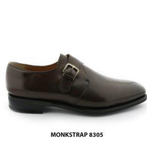 [Outlet size 41] Giày da nam thời trang Monkstrap 8305 001