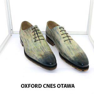 [Outlet Size 43] Giày da nam thủ công Oxford OTAWA 001