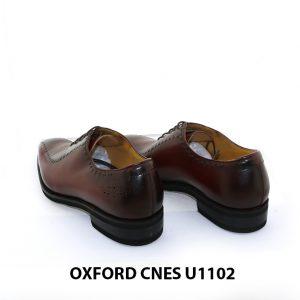 Giày da nam đế khâu Goodyear Oxford U1102 006
