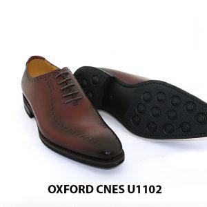 Giày da nam đế khâu Goodyear Oxford U1102 005