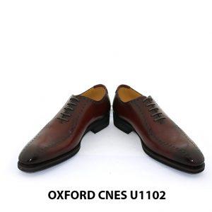 Giày da nam đế khâu Goodyear Oxford U1102 004