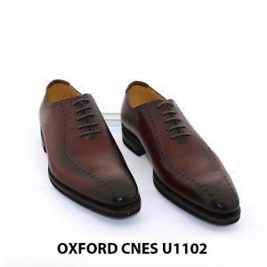 Giày da nam đế khâu Goodyear Oxford U1102 001