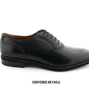 [Outlet size 46] Giày da nam đục lỗ Brogues Oxford M1952 001